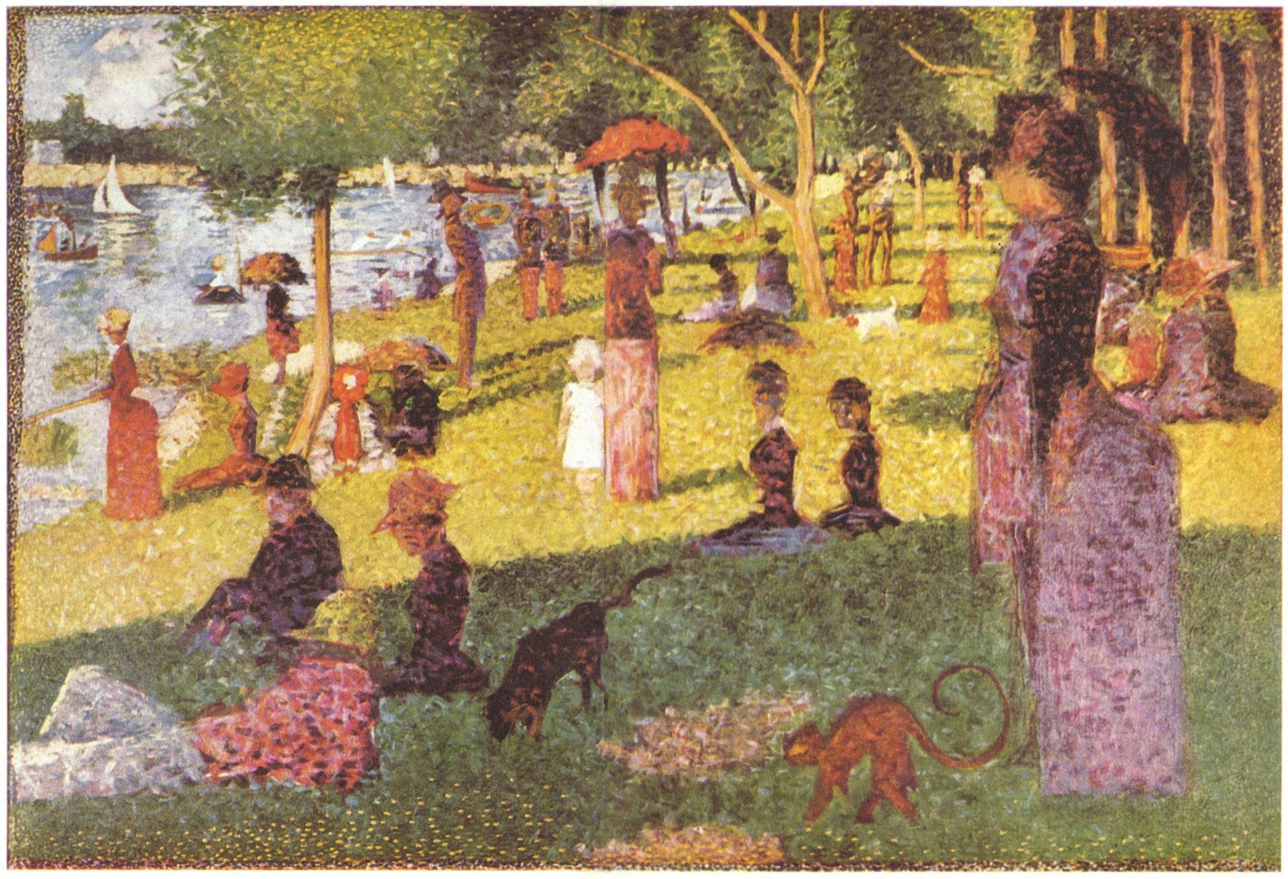 a biography of georges seurat an french artist Georges seurat was a french painter who with fellow artist paul signac originated the influential theory and practice of neoimpressionism he rejected the soft.